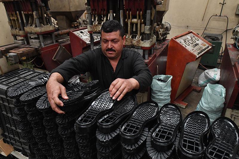 Производство обуви в Сирии