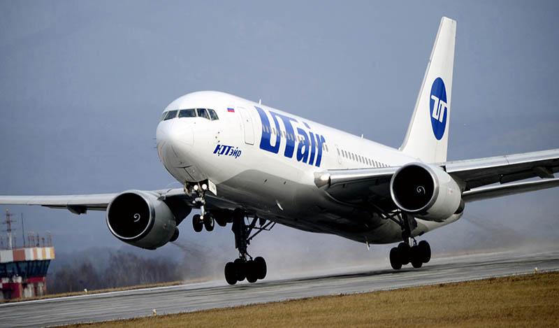 Самолет авиакомпании Utair