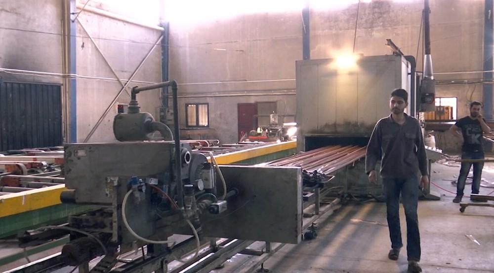 Завод по производству алюминиевых окон в Сирии