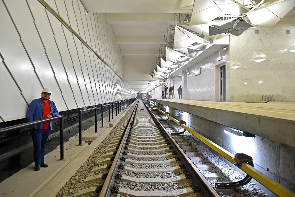 """Станция метро """"Ольховая"""""""