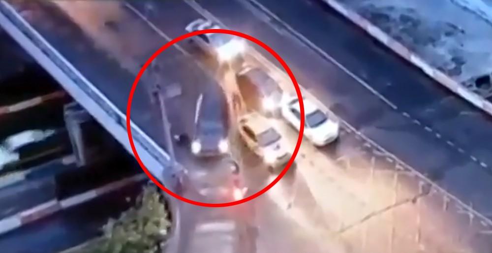 Нарушитель сбил сотрудника ДПС