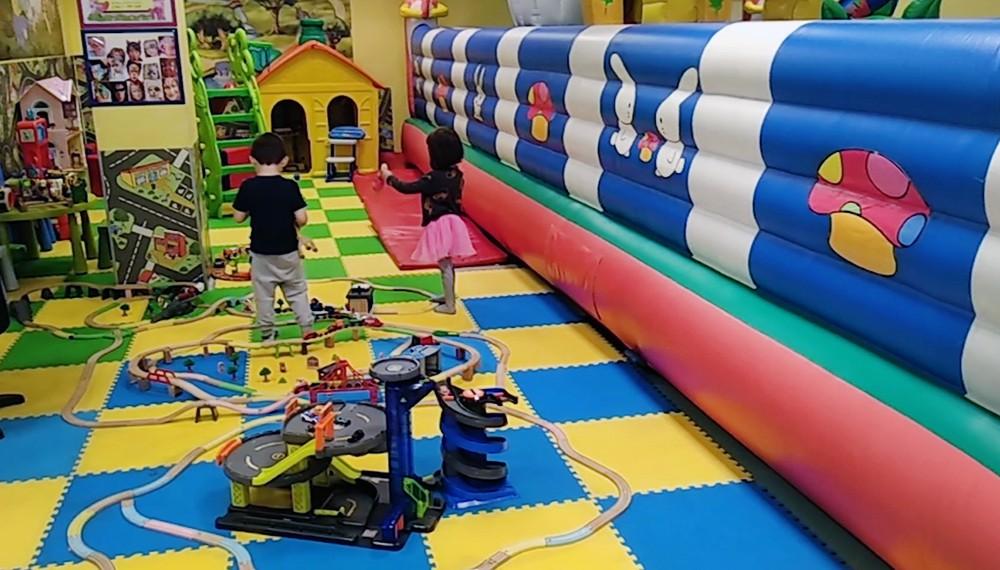 Игровая комната в торговом центре