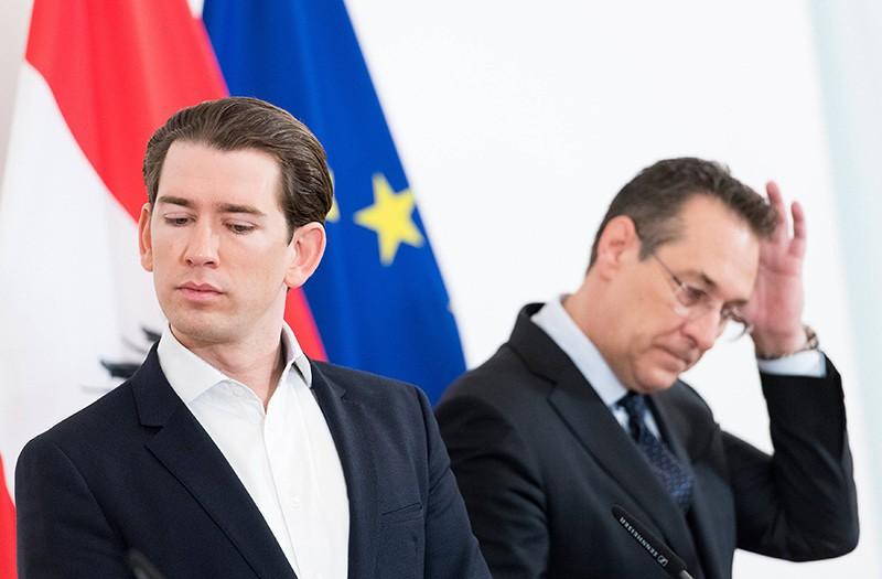Себастьян Курц и Хайнц-Кристиан Штрахе