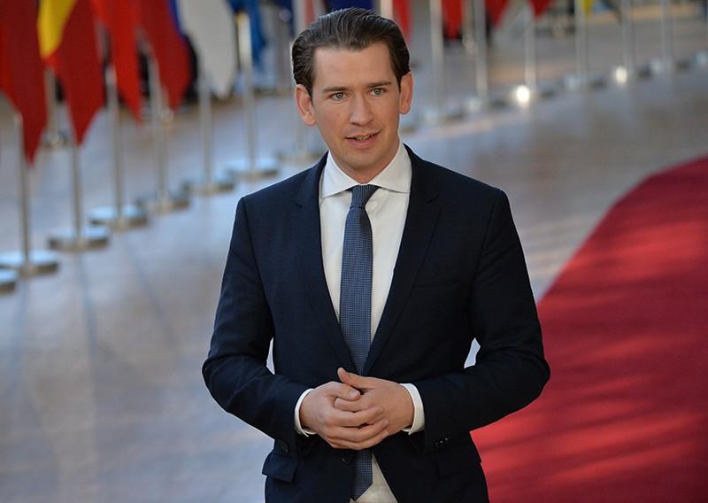 Канцлер Австрии Себастьян Курц