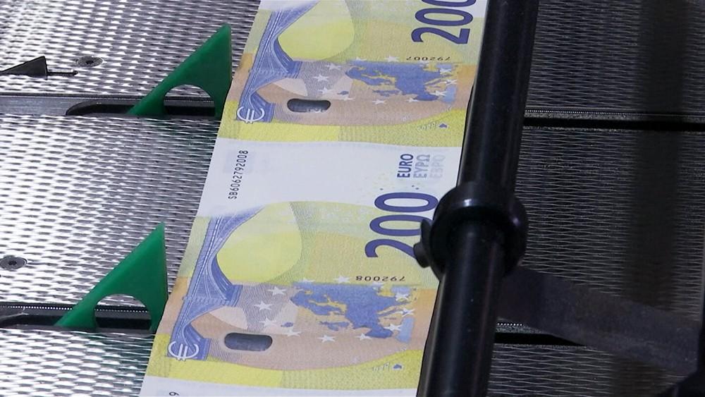 Новые купюры в 200 евро