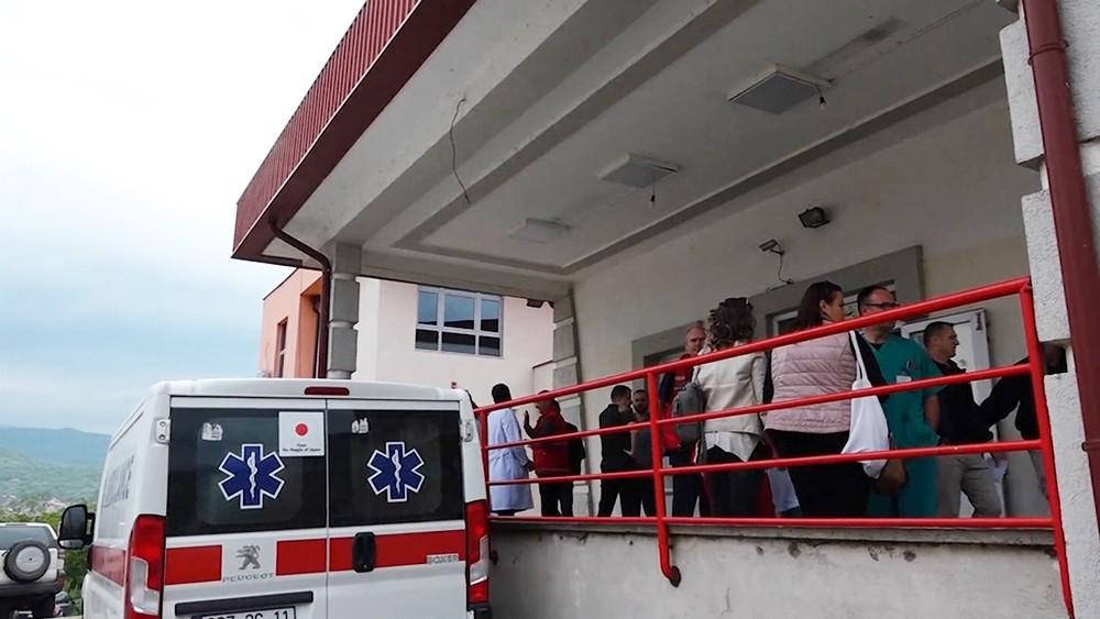 Скорая помощь Косово
