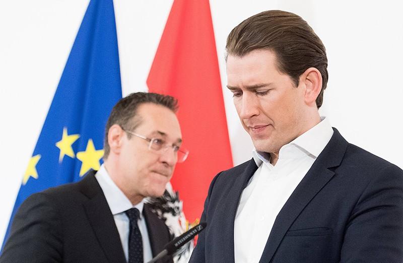 Хайнц-Кристиан Штрахе и Себастьян Курц