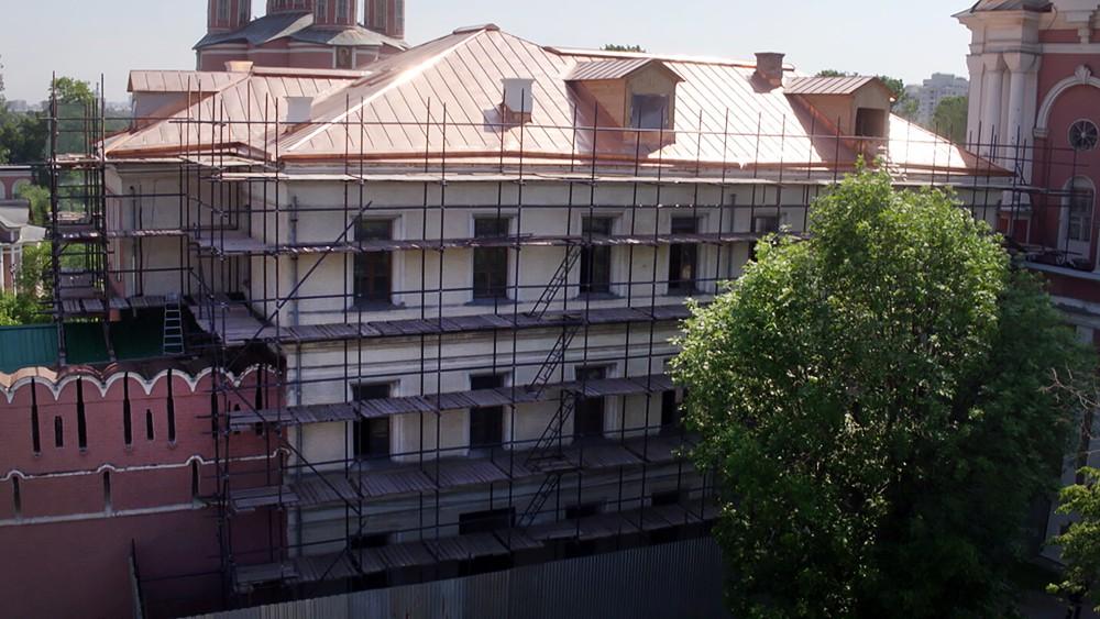 Реставрация в Донском монастыре