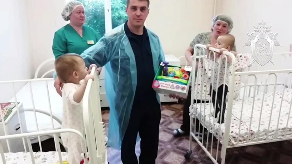 Следователь и дети оставленные матерью в Котельниках