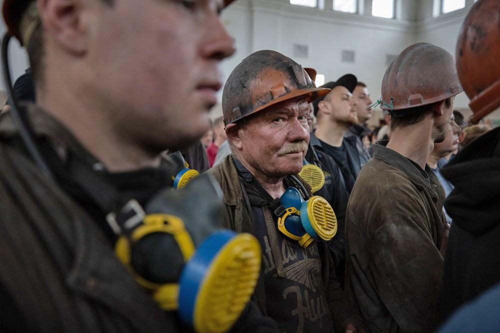 Шахтеры на Украине