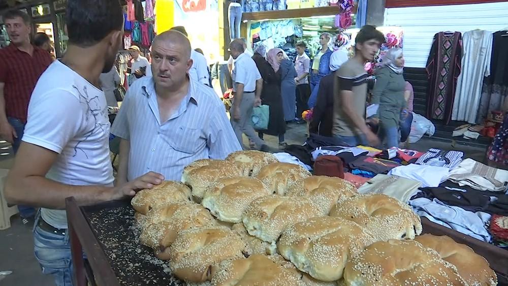 Рынок в Сирии