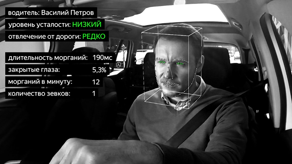 Система наблюдения за состоянием водителя