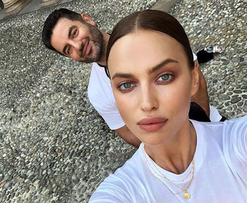 Ирина Шейк и ее агент Али Кавусси