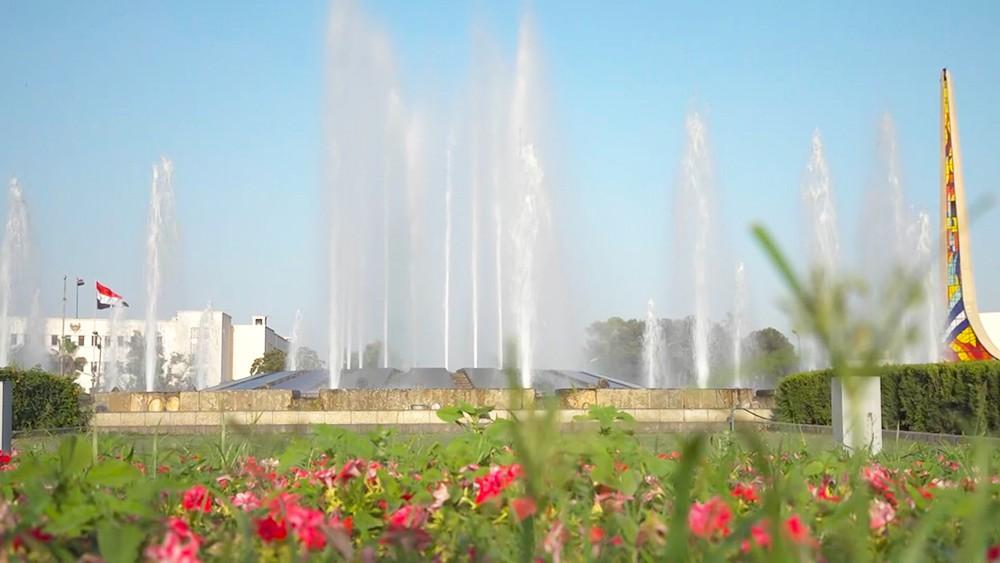 Сезон фонтанов в Сирии