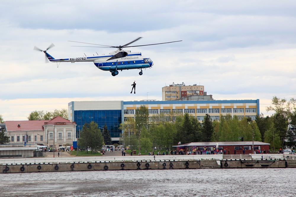 Масштабные учения в Архангельске