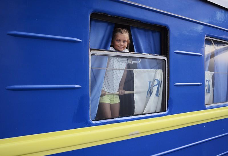 Украинский поезд дальнего следования