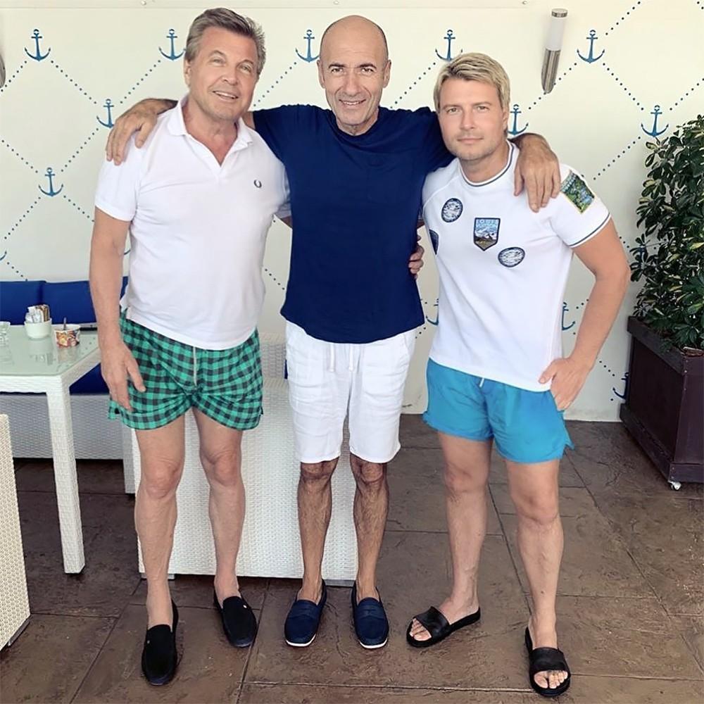 Лев Лещенко, Игорь Крутой и Николай Басков
