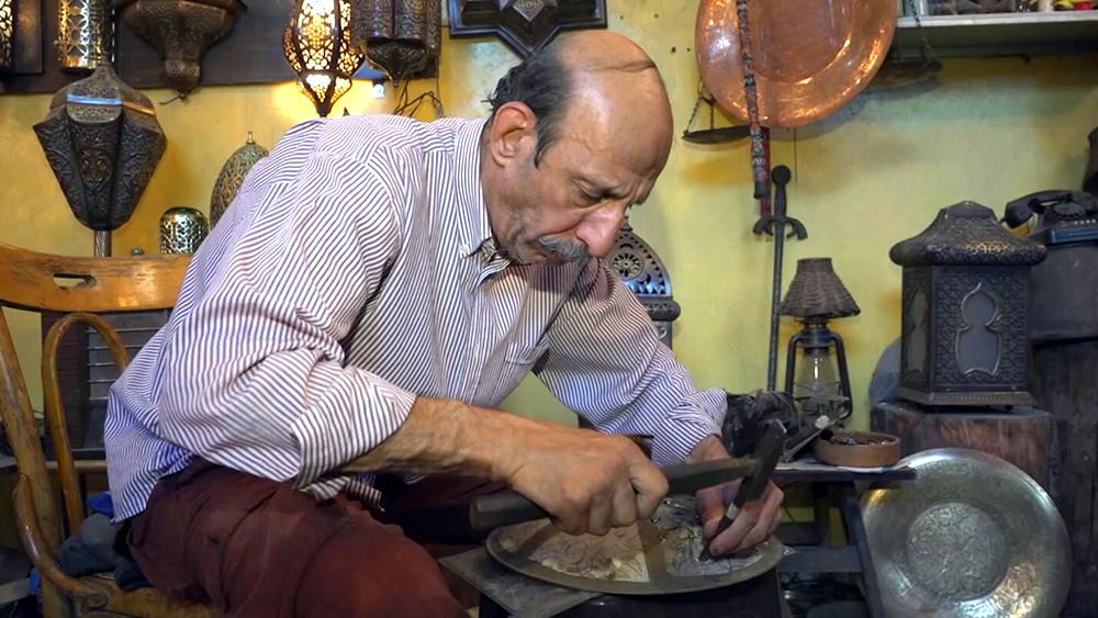 Ремесленные мастерские в Сирии