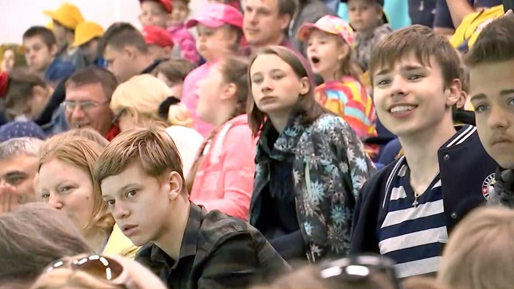 Благотворительный хоккейный матч для детей-сирот