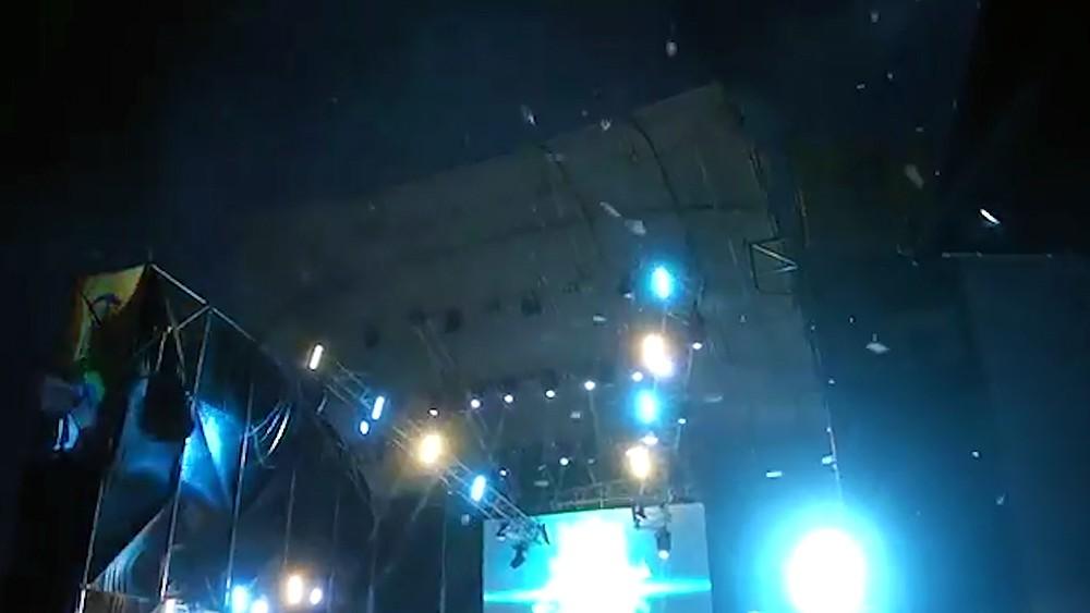 Ураган во время рок-фестиваля на Украине