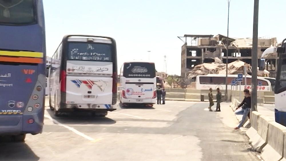 Автовокзал в Сирии