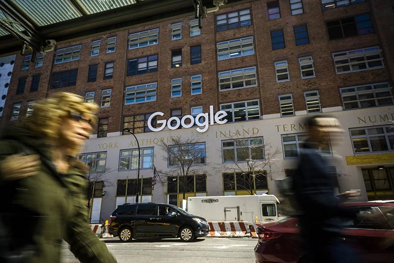 Здание Google