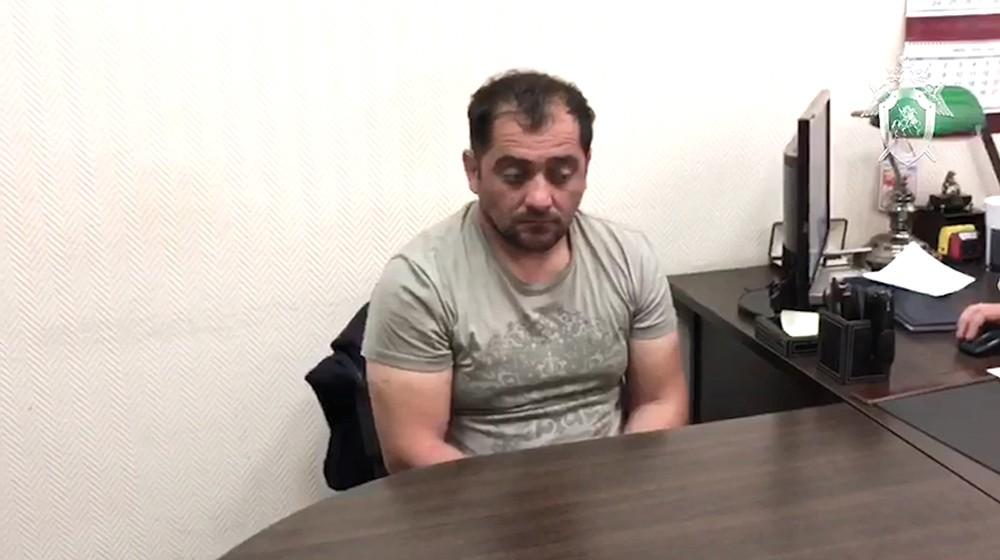 Мужчина, подозреваемый в убийстве спецназовца