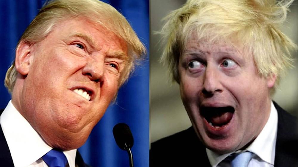 Дональд Трамп и Борис Джонсон