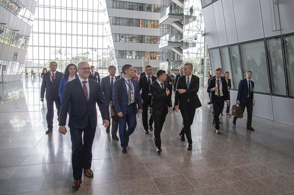 Президент Украины Владимир Зеленский в Брюсселе