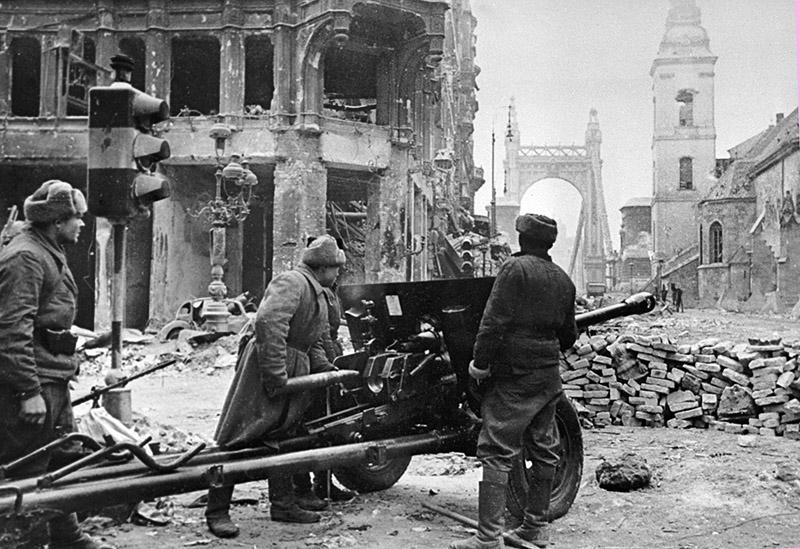 Освобождение Будапешта советскими войсками