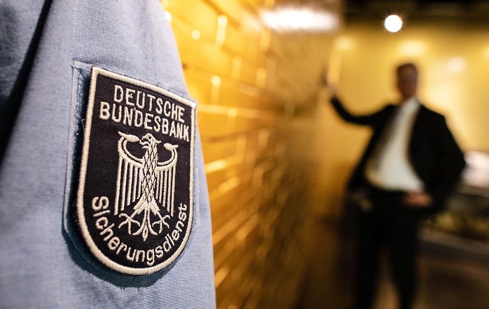 Золото в немецком банке