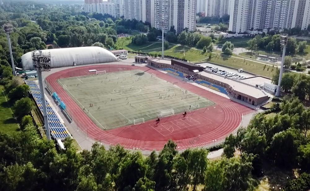 Стадион в Строгино