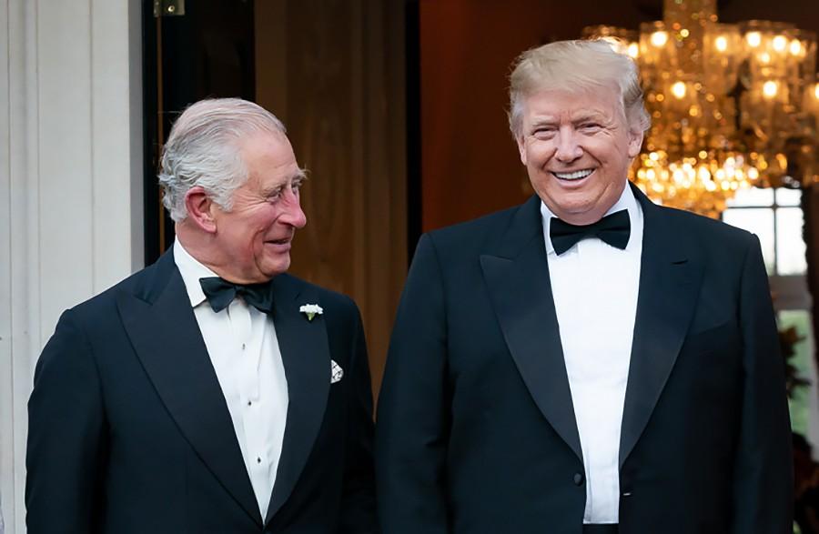 Дональд Трамп и Принц Чарльз