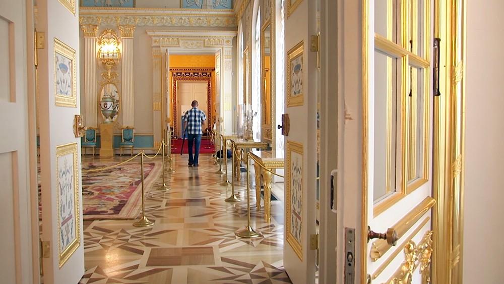 Лионский зал Екатерининского дворца в Царском селе