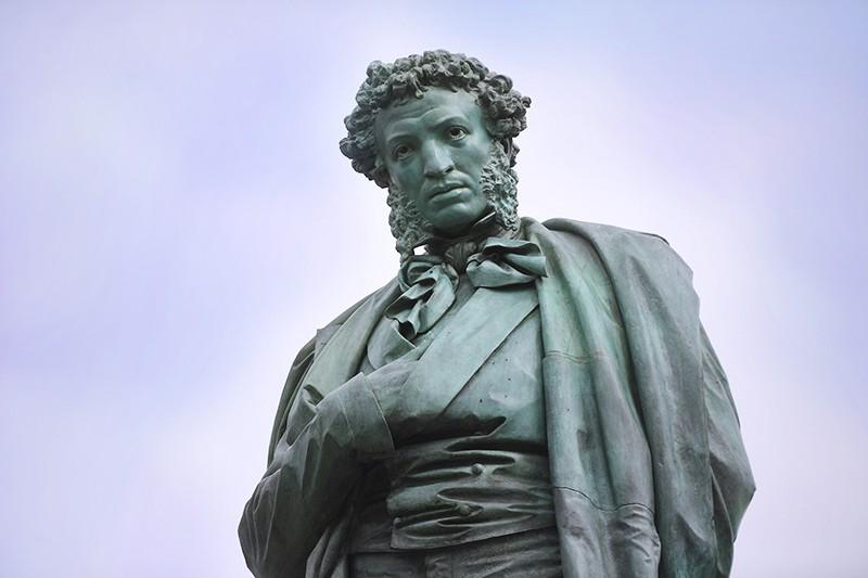Памятник Александра Сергеевича Пушкина