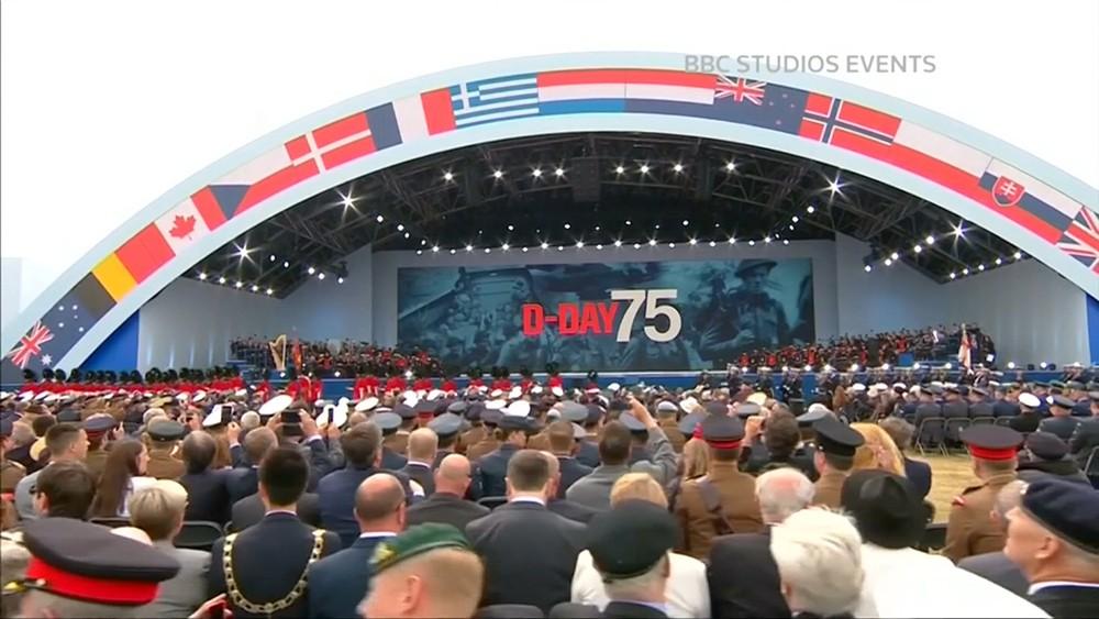 75-летие высадки союзников в Нормандии