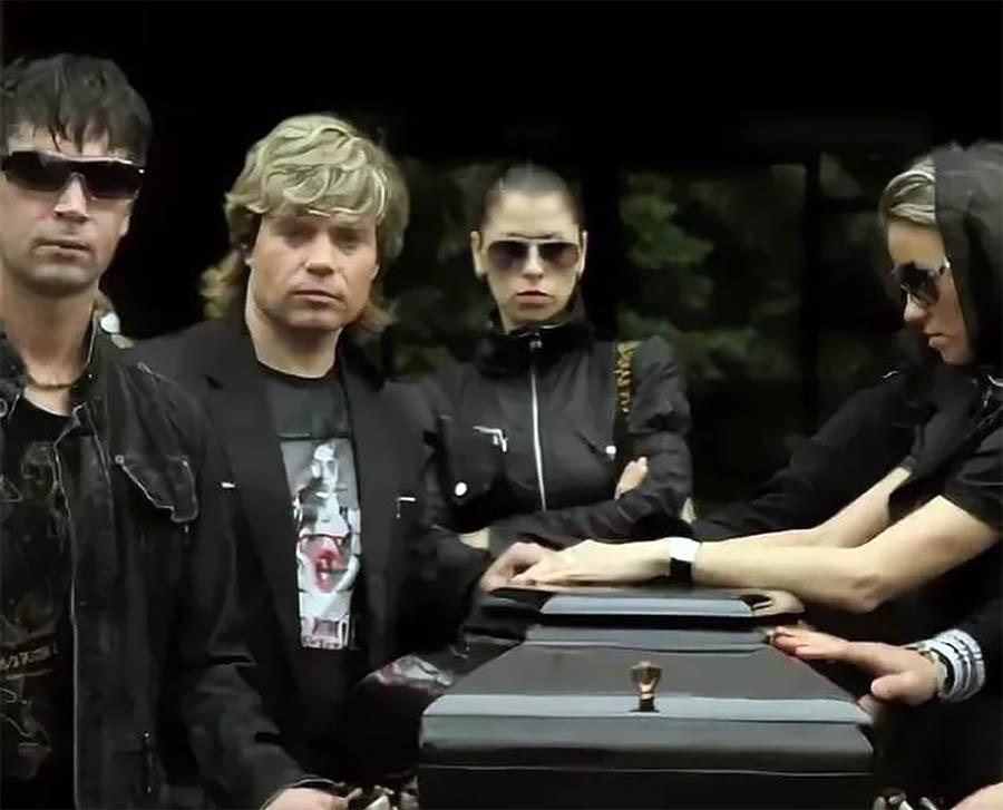 Репетиция похорон Бари Алибасова