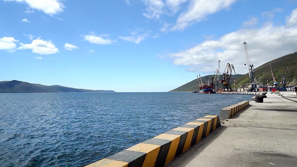 Порт Магадана