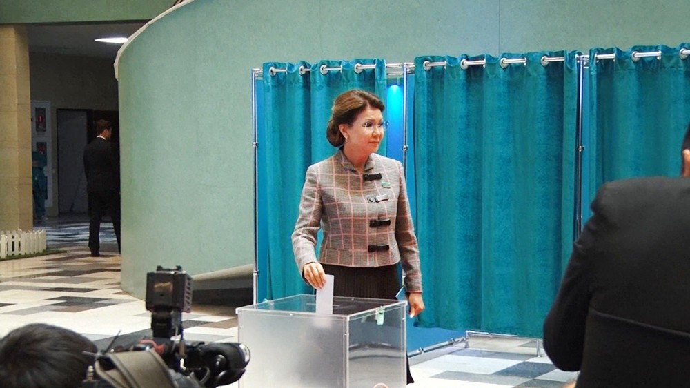 Кандидат на пост президента в Казахстане Дания Еспаева