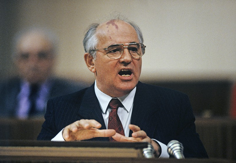 Генеральный секретарь ЦК КПСС, Председатель Верховного Совета СССР Михаил Горбачев