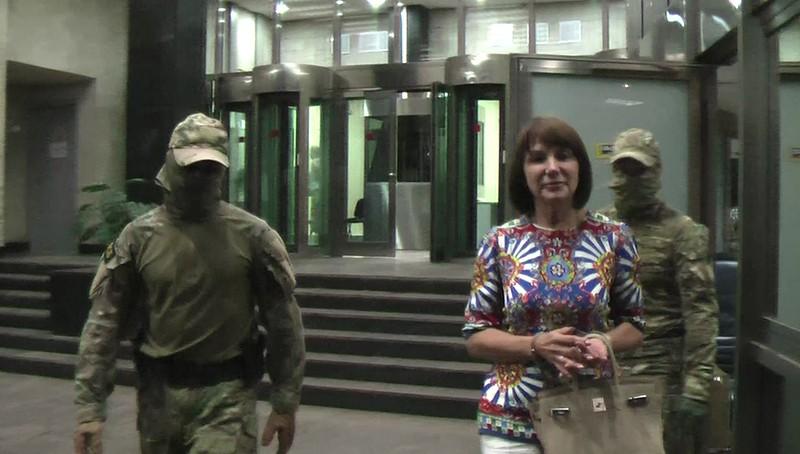 Задержание сотрудниками ФСБ России члена преступной группы
