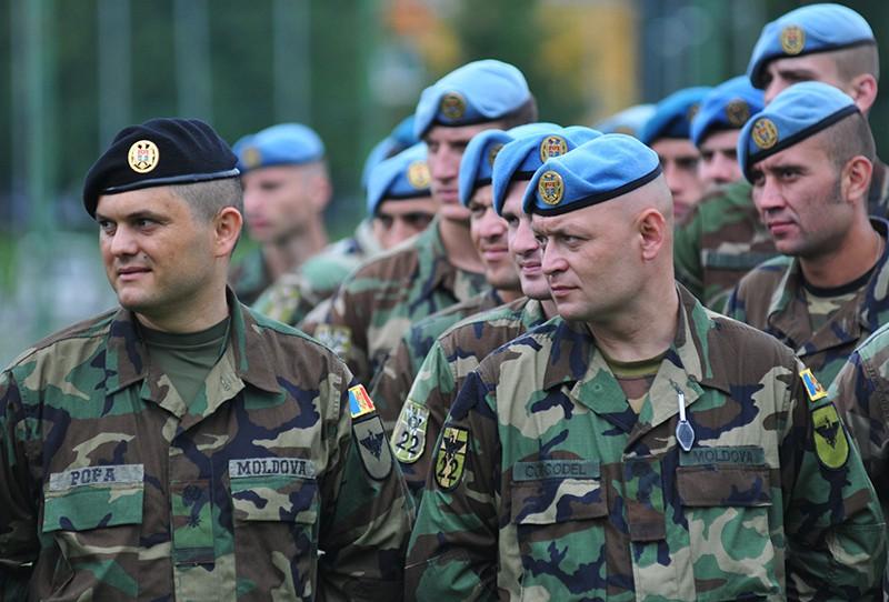 Военнослужащие армии Молдавии