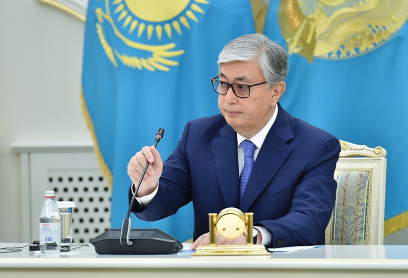 Исполняющий обязанности президента Республики Казахстан Касым-Жомарт Токаев
