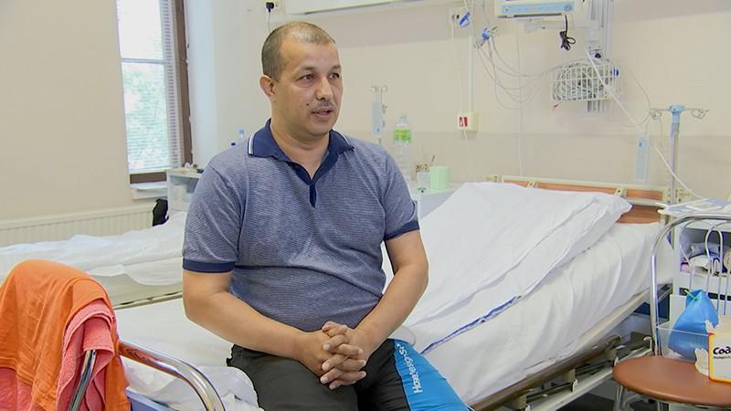 Спасенный медсестрой таксист