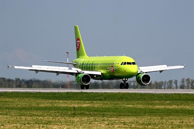 "Самолет Airbus A 319 авиакомпании ""S7 Airlines"""