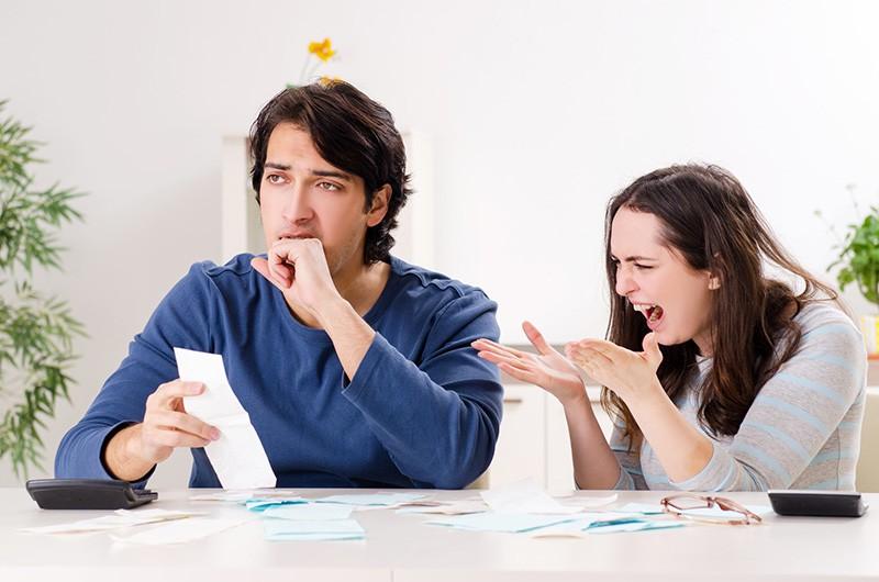 Финансовые трудности в семье