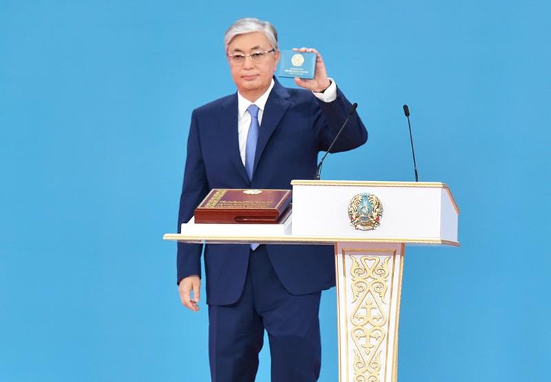 Избранный президент Казахстана Касым-Жомарт Токаев