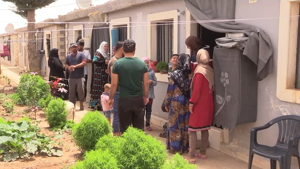 Беженцы из Идлиба