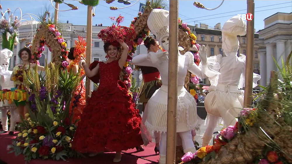 Международный фестиваль цветов в Санкт-Петербурге