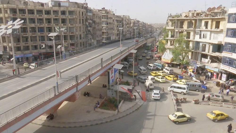 Восстановительные работы в Алеппо